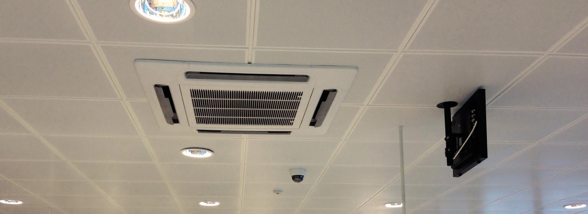 Manutenção e Instalação de sistemas de ar condicionado